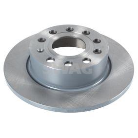 Bremsscheibe Bremsscheibendicke: 10mm, Ø: 255,0mm mit OEM-Nummer 5C0 615 601