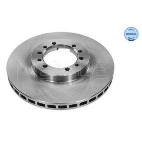Brake Disc Brake Disc Thickness: 24mm, Num. of holes: 6, Ø: 276mm with OEM Number MR 129 648