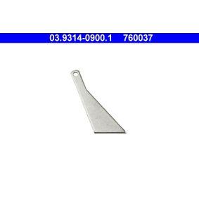ATE 20°-шаблон за реглаж на буталце на спир. апарат 03.9314-0900.1