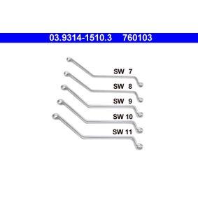 Ring- / Gabelschlüsselsatz