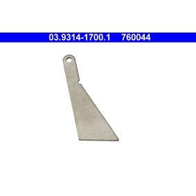 ATE 20° Piston Position Template 03.9314-1700.1