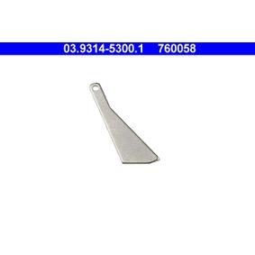 ATE 20°-шаблон за реглаж на буталце на спир. апарат 03.9314-5300.1