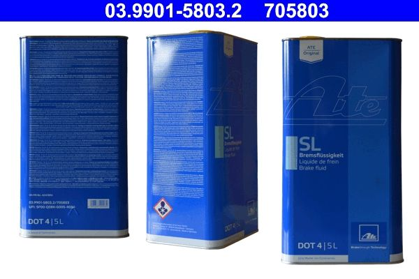 ATE  03.9901-5803.2 Líquido de frenos DOT 4