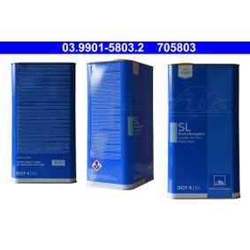 ATE  03.9901-5803.2 Спирачна течност DOT 4