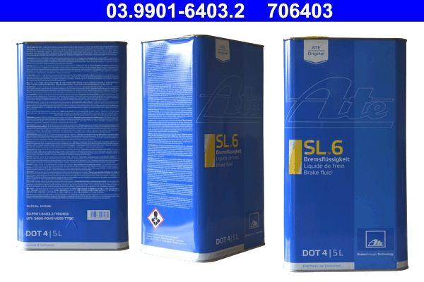 ATE  03.9901-6403.2 Bremsflüssigkeit DOT 4