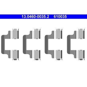 ATE  13.0460-0035.2 Zubehörsatz, Scheibenbremsbelag