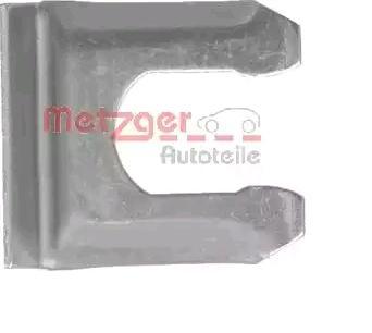 Halter, Bremsschlauch 3206 METZGER Z3206 in Original Qualität