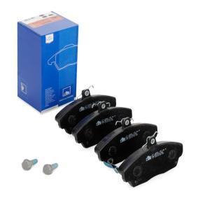 Комплект спирачно феродо, дискови спирачки 13.0460-2803.2 25 Хечбек (RF) 2.0 iDT Г.П. 1999