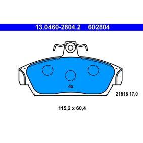 Brake Pad Set, disc brake Article № 13.0460-2804.2 £ 150,00