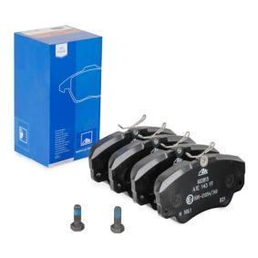 Bremsbelagsatz, Scheibenbremse Breite: 129,9mm, Höhe: 63,8mm, Dicke/Stärke: 18,3mm mit OEM-Nummer 1605004