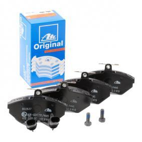 ATE Bremsbelagsatz, Scheibenbremse 13.0460-2837.2 für AUDI A4 (8E2, B6) 1.9 TDI ab Baujahr 11.2000, 130 PS