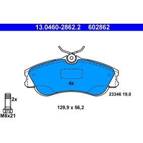 Bremsebelegg sett, skivebremse Varenr 13.0460-2862.2 2200,00kr