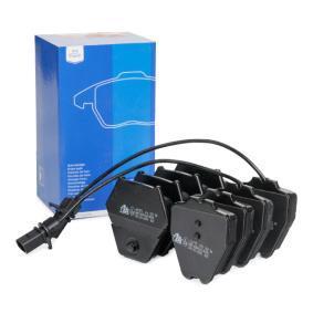 ATE  13.0460-2875.2 Bremsbelagsatz, Scheibenbremse Breite 1: 63,2mm, Breite 2: 77,1mm, Höhe 1: 75,3mm, Höhe 2: 74,7mm, Dicke/Stärke: 17,5mm