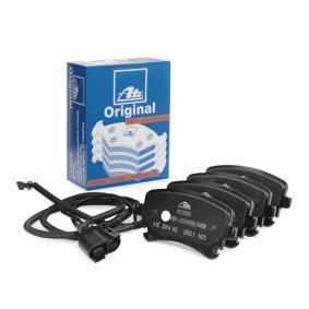 Bremsbelagsatz, Scheibenbremse Breite: 116,1mm, Höhe: 59,0mm, Dicke/Stärke: 17,4mm mit OEM-Nummer 3D0 698 451