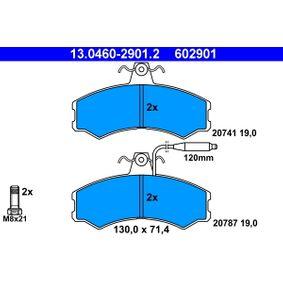 Bremsbelagsatz, Scheibenbremse Art. Nr. 13.0460-2901.2 120,00€