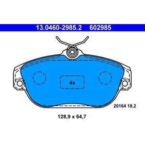Bremsbelagsatz, Scheibenbremse Art. Nr. 13.0460-2985.2 120,00€