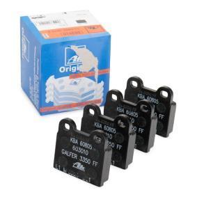 ATE  13.0460-3010.2 Bremsbelagsatz, Scheibenbremse Breite: 55,7mm, Höhe: 53,0mm, Dicke/Stärke: 15,0mm