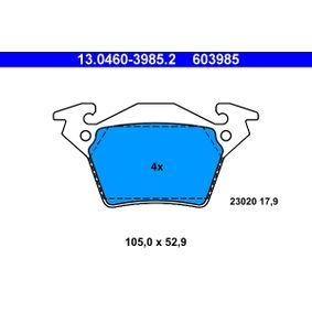 Bremsbelagsatz, Scheibenbremse Breite: 105,0mm, Höhe: 52,9mm, Dicke/Stärke: 17,9mm mit OEM-Nummer A000 421 4210