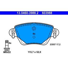 Bremsbelagsatz, Scheibenbremse Art. Nr. 13.0460-3988.2 120,00€