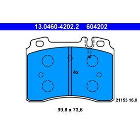Bremsbelagsatz, Scheibenbremse Art. Nr. 13.0460-4202.2 120,00€