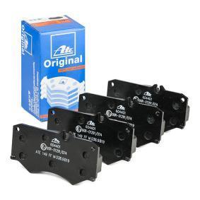 Kit de plaquettes de frein, frein à disque Essieu avant 13.0460-4401.2