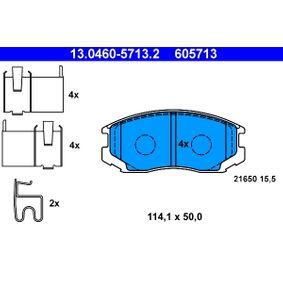 Bremsbelagsatz, Scheibenbremse Art. Nr. 13.0460-5713.2 120,00€