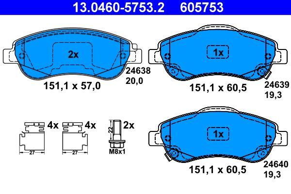 13.0460-5753.2 ATE fra produsent opp til - 30% avslag!