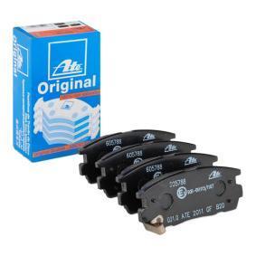 Bremsbelagsatz, Scheibenbremse Breite: 110,4mm, Höhe: 46,0mm, Dicke/Stärke: 14,7mm mit OEM-Nummer 58302-H1A00