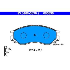 Bremsbelagsatz, Scheibenbremse Art. Nr. 13.0460-5890.2 120,00€