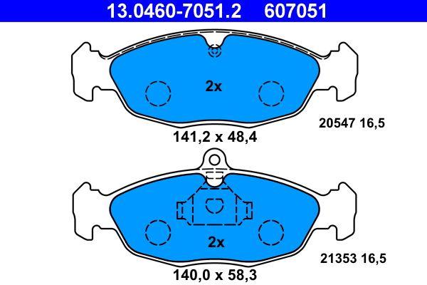 Артикул № 607051 ATE Цени