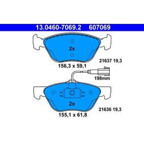 Bremsbelagsatz, Scheibenbremse Art. Nr. 13.0460-7069.2 120,00€