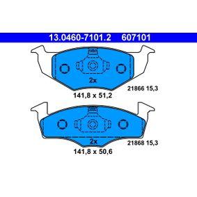 Bremsbelagsatz, Scheibenbremse Art. Nr. 13.0460-7101.2 120,00€