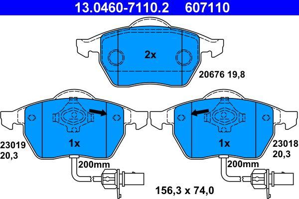 Bremseklosser ATE 23018 fagkunnskap
