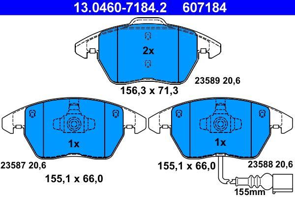 Артикул № 607184 ATE Цени