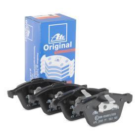 Bremsbelagsatz, Scheibenbremse Breite 1: 155,1mm, Breite 2: 156,3mm, Höhe 1: 72,0mm, Höhe 2: 71,0mm, Dicke/Stärke: 19,5mm mit OEM-Nummer 274 285