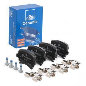 ATE Bremsbelagsatz, Scheibenbremse 13.0470-2880.2 für AUDI A4 Cabriolet (8H7, B6, 8HE, B7) 3.2 FSI ab Baujahr 01.2006, 255 PS