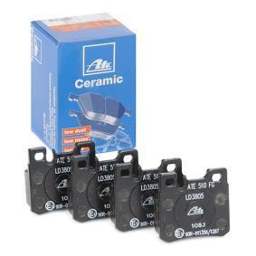 Bremsbelagsatz, Scheibenbremse Breite: 61,8mm, Höhe: 58,6mm, Dicke/Stärke: 15,0mm mit OEM-Nummer A001 420 02 20