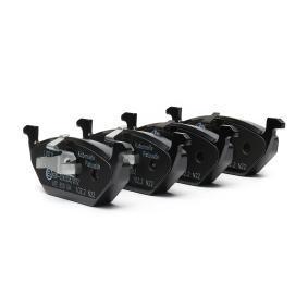 Abgasrückführventil für VW GOLF IV (1J1) 1.6 100 PS ab Baujahr 08.1997 ATE Bremsbelagsatz, Scheibenbremse (13.0470-7111.2) für
