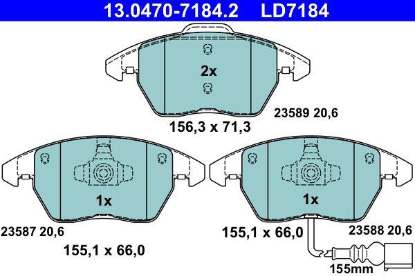 Artikelnummer LD7184 ATE Preise