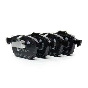 Bremsbelagsatz, Scheibenbremse Breite 1: 155,1mm, Breite 2: 156,3mm, Höhe 1: 62,4mm, Höhe 2: 67,0mm, Dicke/Stärke: 18,1mm mit OEM-Nummer 1809256