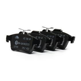 Bremsbelagsatz, Scheibenbremse 13.0470-7195.2 KUGA 2 (DM2) 2.0 TDCi 4x4 Bj 2014