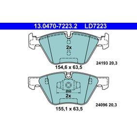 Bremsbelagsatz, Scheibenbremse Art. Nr. 13.0470-7223.2 120,00€