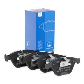 ATE Ceramic 13.0470-7237.2 Bremsbelagsatz, Scheibenbremse Breite: 155,1mm, Höhe: 68,3mm, Dicke/Stärke: 20,3mm