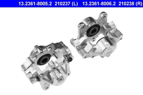 Bremssattel Hinterachse rechts preiswert 13.2361-8006.2