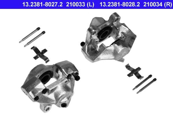 Bremssattel Hinterachse links preiswert 13.2381-8027.2