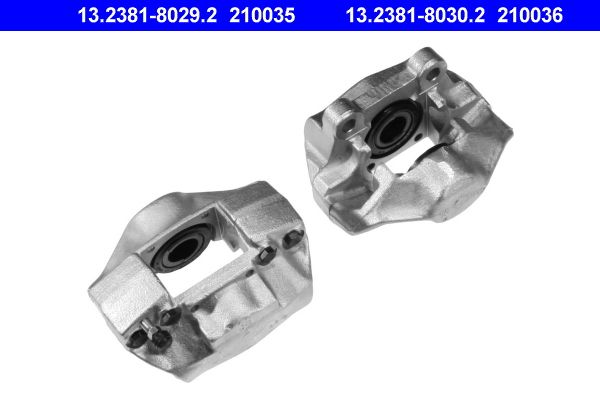 Bremssattel Hinterachse links, Hinterachse rechts preiswert 13.2381-8030.2