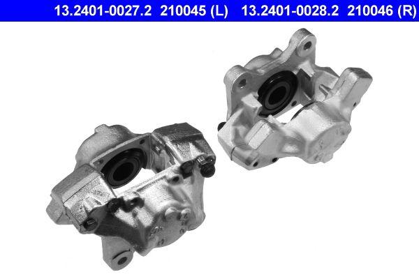 Bremssattel Hinterachse rechts preiswert 13.2401-0028.2