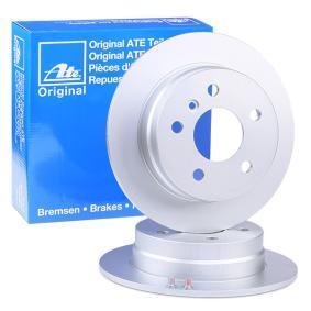Discos del Cigüeñal MERCEDES-BENZ CLASE B (W245) B 160 (245.231) de Año 04.2009 95 CV: Disco de freno (24.0108-0113.1) para de ATE