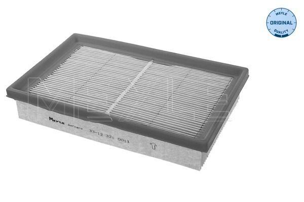 MEYLE  33-12 321 0011 Légszűrő Hossz: 231mm, Szélesség: 146mm, Magasság: 42mm