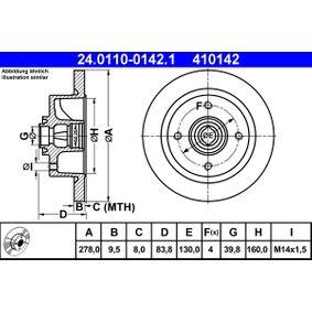 Bremsscheibe Art. Nr. 24.0110-0142.1 120,00€